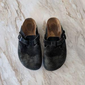 Birkenstock black clogs sandals size 36